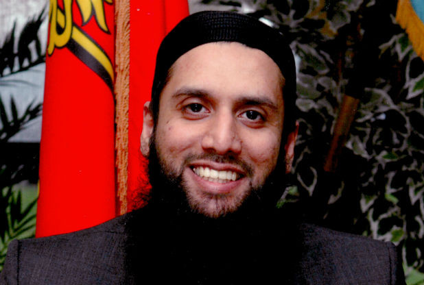 Armed forces honoured Muslim Imam with OBE