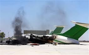Dozens killed in week-long battle for Libya airport