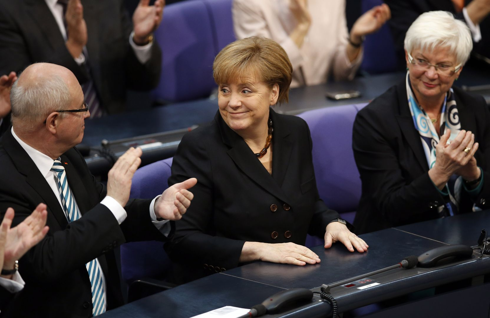 Merkel elected as German chancellor for third term