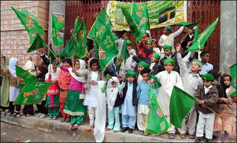 Milad Day celebrations in Pakistan