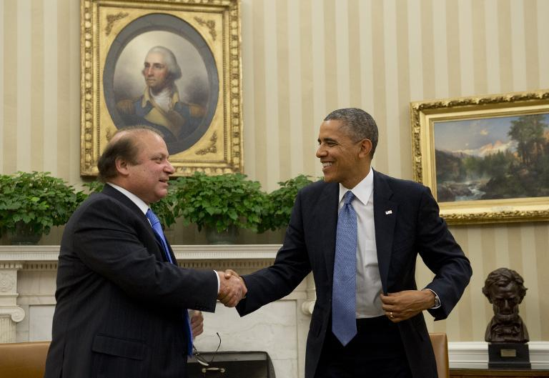Nawaz, Obama meeting in White House, discussed cooperation and security issues
