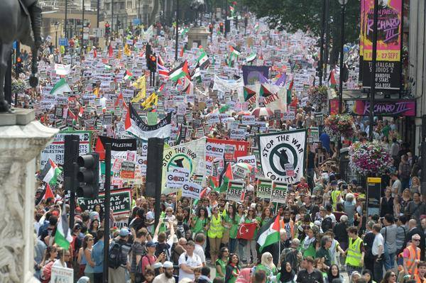 World Protests Against Israel attack on Gaza