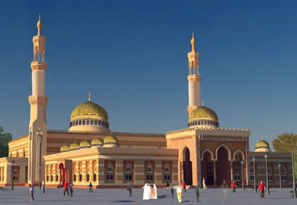 UAE mosques Plans for Foreigners & Deaf Muslims