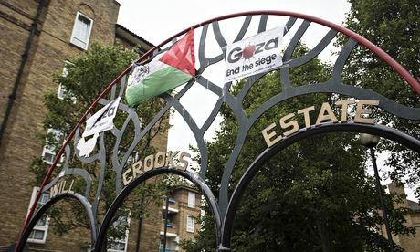 Jihadist' flag flown in east London