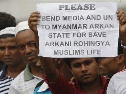 Medical charity says treated Rohingyas near massacre site
